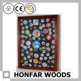 Caja de madera caja de almacenamiento sombreado para la decoración del hogar