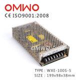 Gleichstrom-Ein-Outputschalter-Stromversorgung 10V 10A Wechselstrom-Wxe-100s-10