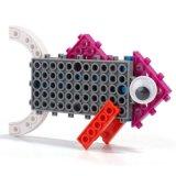 14885505-4 chez 1 animal a changé le jouet créateur éducatif 33PCS réglé par blocs (Buffalo du nécessaire DIY de bloc de poissons de chameau de chèvre)