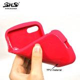 Caixa Shining lisa do telefone de Shs TPU para Samsung C5