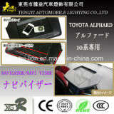 Blendschutzauto-Navigations-Sonnenschutz für Toyota Alphard 20 Serie