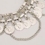 Ювелирные изделия ожерелья ворота Tassel монетки способа