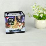 Venta al por mayor latas de galletas, Promoción Envase del estaño, cuadrado del metal Cookie Box