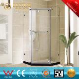 Quarto de chuveiro do aço inoxidável da forma do diamante do banheiro de Frameless (BL-Z3502)