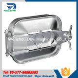 portilla rectangular exterior inoxidable del acero Ss304 de 250mm*150m m