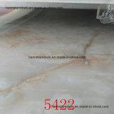 Feuille stratifiée de PVC, feuille de marbre de PVC, panneau d'intérieurs