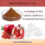100% naturel Pomegranate Peel Extract Powder Punicalagin 20-40%