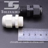 Tipo material de nylon glándulas de la paginación de cable de nylon