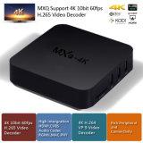 싼 고정되는 최고 상자 Mxq-4k Kodi 인조 인간 텔레비젼 상자 Rk3229 1+8GB