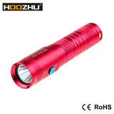 Mini LEIDEN van Hoozhu U10 Flitslicht 80 het Duiken van de Scuba-uitrusting van het Mini het Duiken van het Flitslicht Navulbare Meters Flitslicht