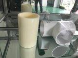 Borde del tubo de las instalaciones de tuberías de UPVC