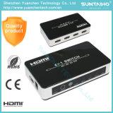 Switcher переключателя 4k 2k 3D HDMI V1.4 4 x 1HDMI с типуном