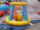 0.9mm PVC水公園のための膨脹可能なバスケットボールのシュート
