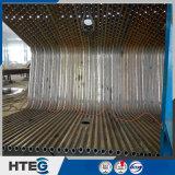 水をリサイクルするためのボイラー熱交換器の表面放射の熱交換器の膜水壁