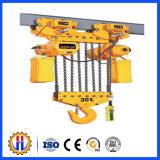 Alzamientos de cuerda de alambre del equipo de elevación de grúa