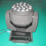 Indicatore luminoso capo mobile dell'occhio LED dell'ape della lavata dello zoom della fase 19X15W