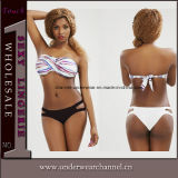 Signora superiore Sexy Two-Piece Bikini Swimwear (TKYA1205)