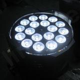 DMX 단계 동위 64 LED 18X18W 6in1 LED 동위