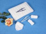 綿航空会社の熱くか冷たいタオル