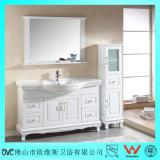 Governo di lusso di vanità della stanza da bagno di legno solido