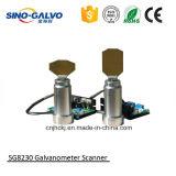 섬유 Laser 절단기를 위한 30mm 가늠구멍 Sg8230 Laser Galvo