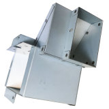 Tôle de support de raccordement de ventilation