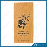 Cadre en bois de conditionnement et de mémoire pour la bouteille de boisson alcoolisée (HJ-PWSY03)