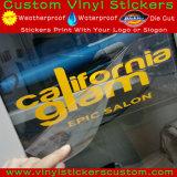 Kundenspezifisches Auto-Fenster im FreienIndooor Using Vinylfreier raum gestempelschnittenes Firmenzeichen-Übergangsabziehbild