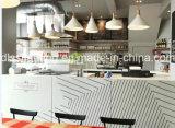 食堂の装飾のためのレプリカの白いアルミニウムそして木製の現代ペンダント灯