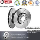Le disque automobile de frein de pièces de rechange de qualité d'OEM était conforme à ISO/Ts 16949