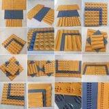 Плитки PVC резиновый тактильные вымощая