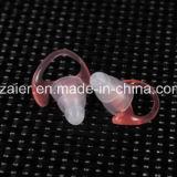 redução de ruído apta do Earplug 3-Layer da borracha de silicone da forma do cogumelo