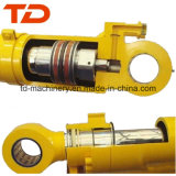 O cilindro hidráulico de PC100 PC200-1/2 PC270 KOMATSU para a máquina escavadora parte o conjunto do cilindro da cubeta do crescimento do braço