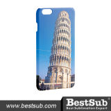 Projeto do Sublimation de Bestsub para a tampa 3D positiva do iPhone 6 (IP6P01F)