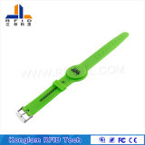 Modificado para requisitos particulares jugando el Wristband elegante del silicón RFID del código del laser