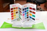 Cartão de cores personalizadas de alta qualidade para produtos químicos