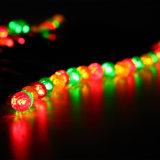 Les lampes solaires 50LEDs imperméabilisent les lumières solaires extérieures de chaîne de caractères de quirlande électrique de la décoration colorée DEL de jardin