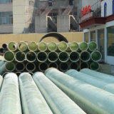 Tubo de Treament del agua de la fibra de vidrio o de las aguas residuales