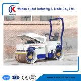 Völlig hydraulische Doppeltrommel-Straßen-Rolle 3000kg mit Dieselmotor Japan-Kubota