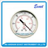 Manometro d'acciaio Misurare-Inossidabile di pressione del Manometro-Gas di vuoto