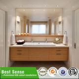 Vanidad clásica del cuarto de baño de madera sólida