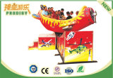 Nueva máquina de juego lanzada del parque de atracciones del simulador rotatorio del simulador