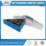 Venda por atacado de empacotamento de papel personalizada popular da caixa de Macaron da caixa da padaria