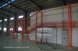 Linha de revestimento para pulverização automática de pó