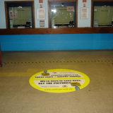 Autoadesivo al suolo del pavimento della decorazione dell'autoadesivo dell'autoadesivo del PVC personalizzato di immagine e di formato