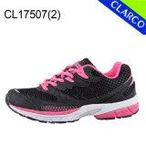 Chaussures de course de sports de femmes avec la semelle de coussin
