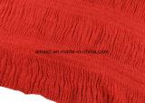 숙녀 (ABF22004021)를 위한 형식에 의하여 염색되는 Crepe 숄 주름 아크릴 스카프