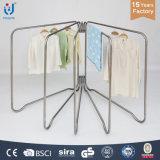 Stehende faltende Kleidung-Aufhängungs-Zahnstange für Balkon