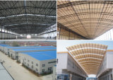 Feuilles en plastique ondulées imperméables à l'eau de toiture d'Apvc/UPVC/PVC pour la serre chaude
