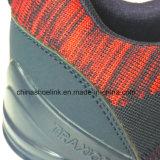 2018 de Tennisschoenen die van de Mensen van de manier Atletische Schoenen met het Breien van Bovenleer in werking stellen